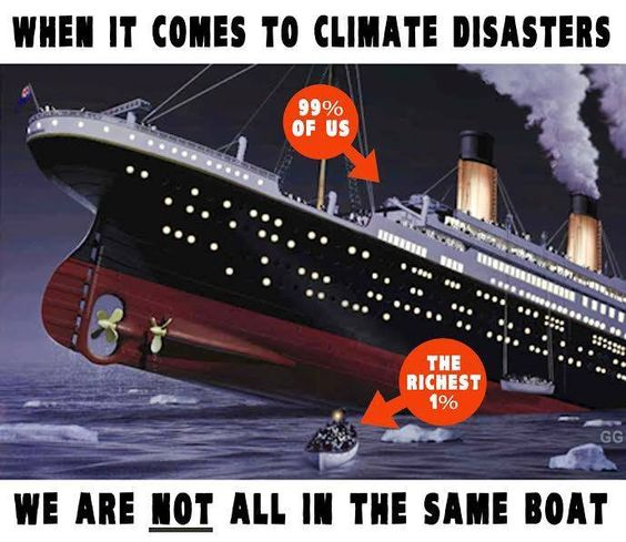 climate change the 99%