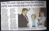 102nd birthday