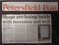 shop vs recession and web